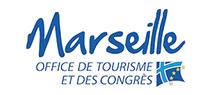 Logo de l'office de tourisme et des congrès de Marseille