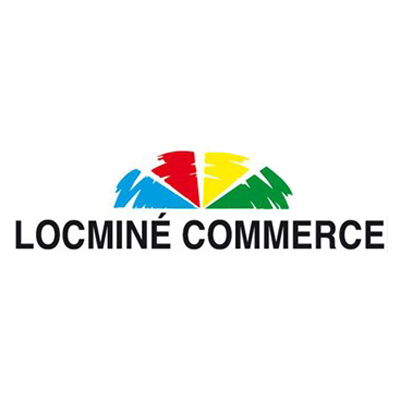 Locminé Commerce logo