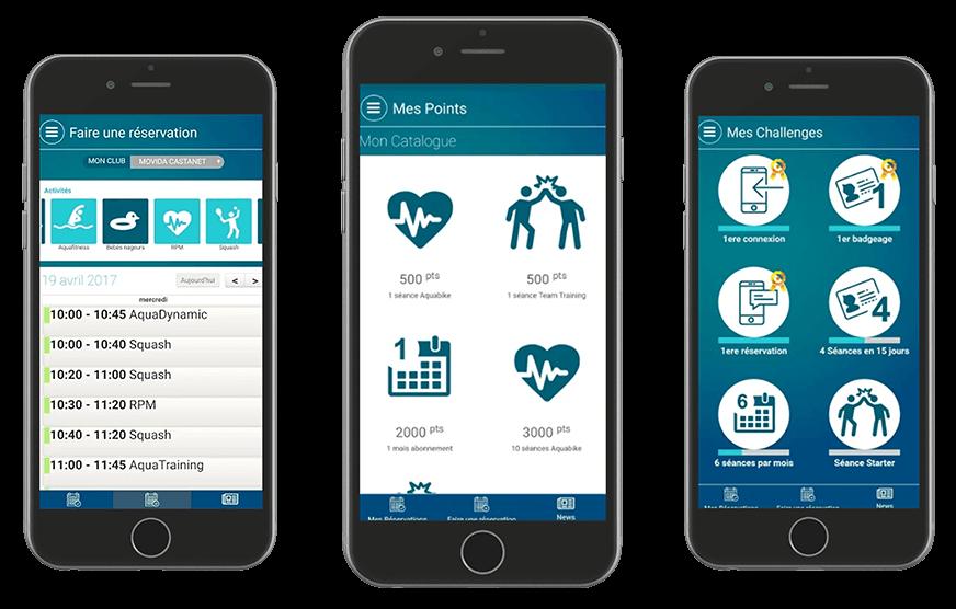 Application mobile Movida