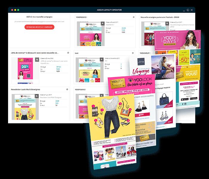 Exemples de template de campagne e-mail