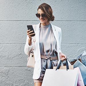Le consommateur a sa carte de fidélité directement sur l'application mobile
