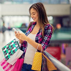 Le client réserve un bon plan en ligne depuis l'application mobile