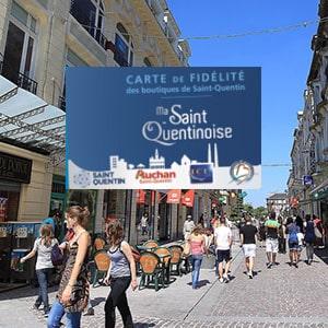 Carte de fidélité du territoire de Saint Quentin