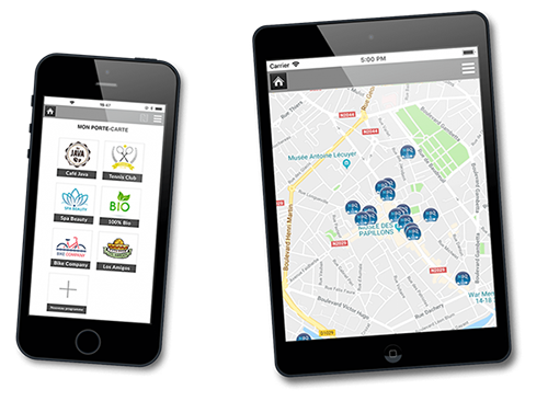 modules web sur tablette et smartphone