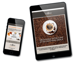 Campagnes communication Coffea