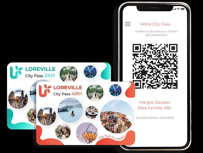 City Pass physique NFC ou dématérialisé QR code